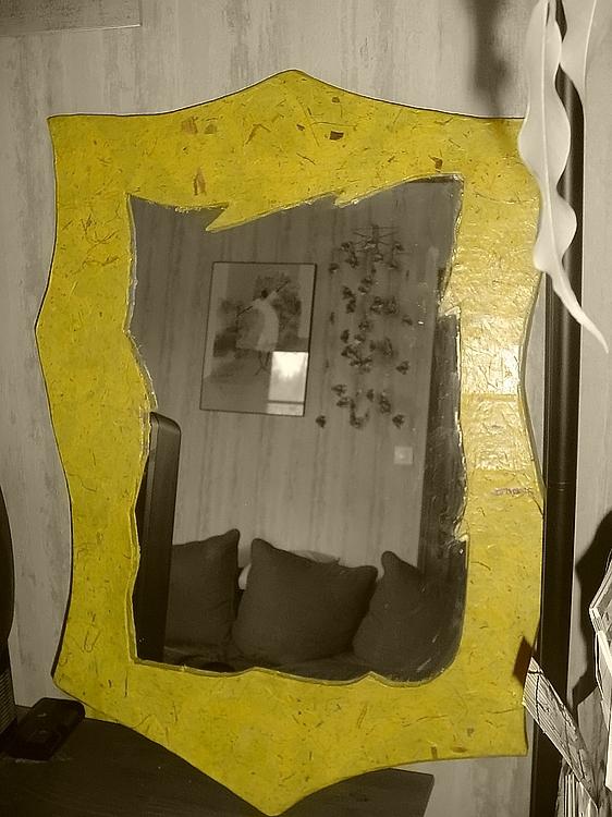 achat de miroir sur mesure en carton acheter un miroir personnalis atelier carton. Black Bedroom Furniture Sets. Home Design Ideas